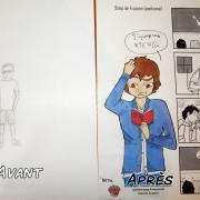 évolution du dessin après un stage manga