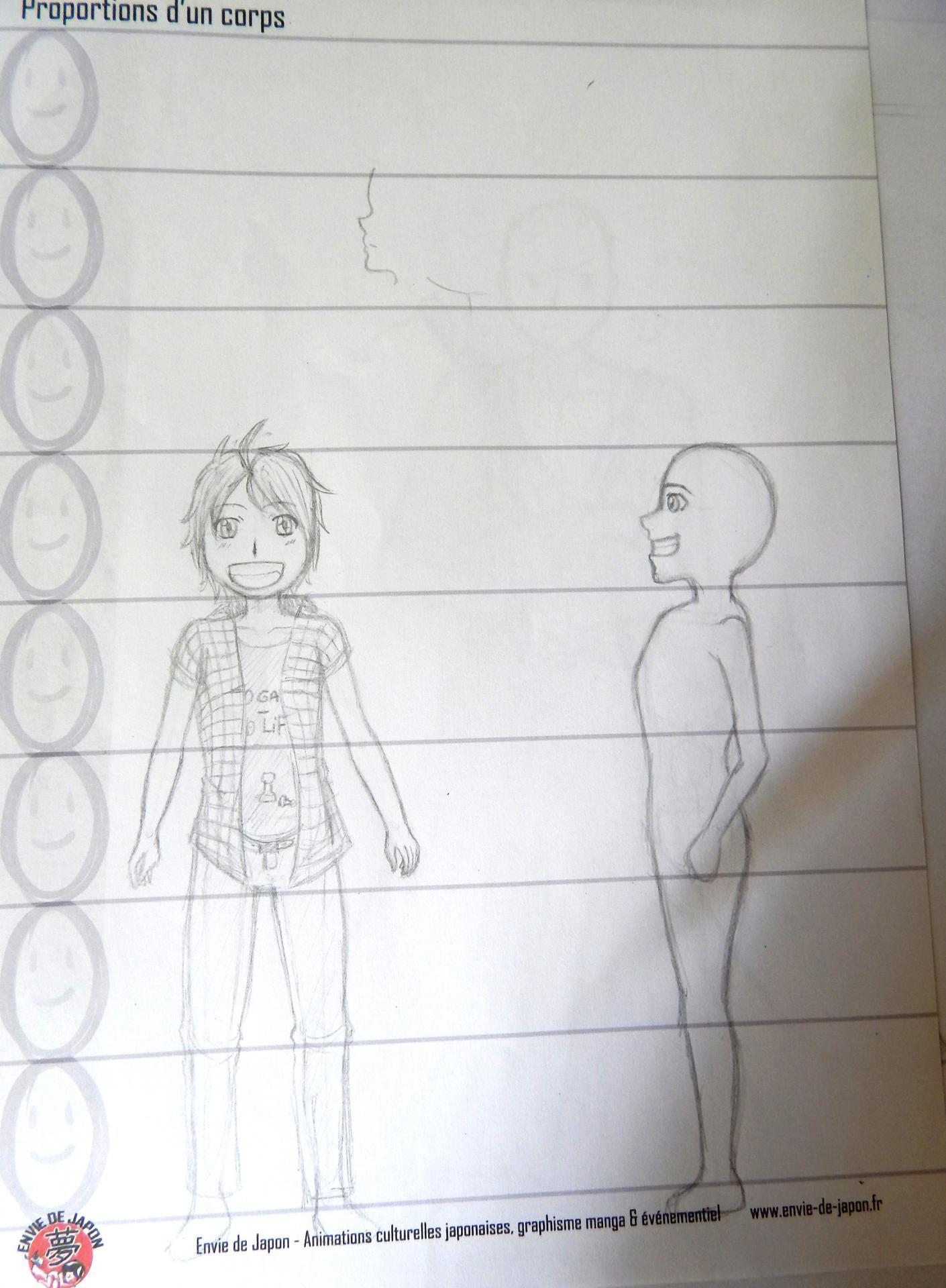 stage manga débutant