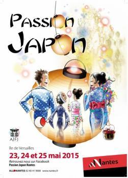 Affiche Passion Japon 2015