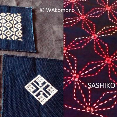 Kogin et sashiko